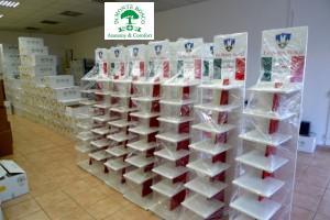 dr Monte Bosco display állványok