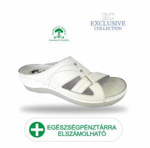 Anatomiai biokomfort papucs 4005 Bianco Exclusive