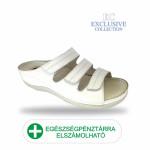 Anatomiai biokomfort papucs BS-3 Bianco Exclusive