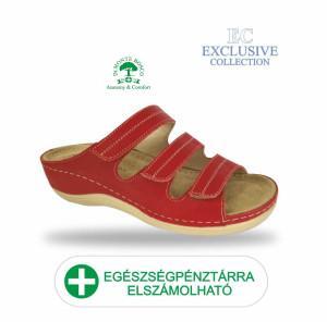 Anatomiai biokomfort papucs BS-3 Rosso Exclusive