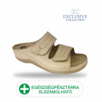 Anatomiai biokomfort papucs BS-5 Beige Exclusive