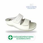 Anatomiai biokomfort papucs BS-5 Bianco Exclusive