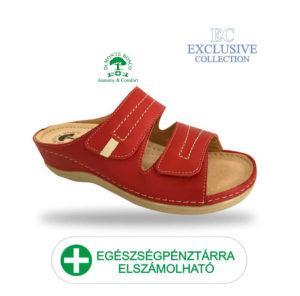 Anatomiai biokomfort papucs BS-5 Rosso Exclusive