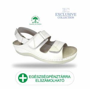 Anatomiai biokomfort szandál BS-7 Bianco Exclusive