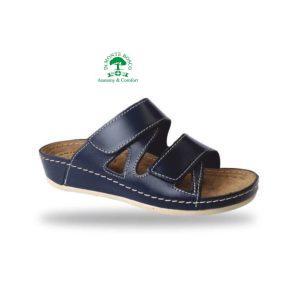Fratelli Babb komfort papucs D76 Blu