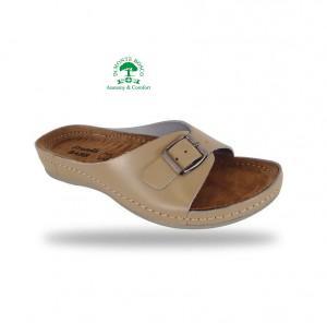 Fratelli Babb komfort papucs D95 Beige