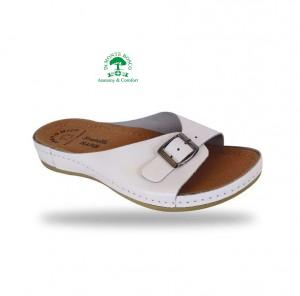 Fratelli Babb komfort papucs D95 Bianco