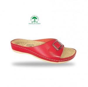 Fratelli Babb komfort papucs D95 Rosso