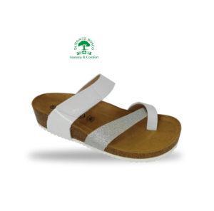 MonteBosco bio divat papucs 45S Bianco