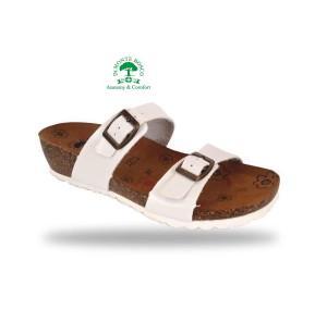 MonteBosco bio divat papucs V56 Bianco