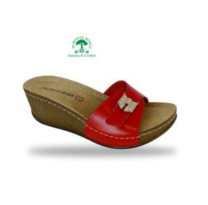Fratelli Babb komfort papucs D161-n Rosso