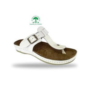 Fratelli Babb divat papucs D94 Bianco kényelmesen divatos