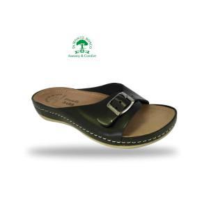 Fratelli Babb komfort papucs D95 Nero