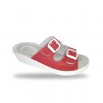 Sanital Light 371 Rosso női komfort papucs
