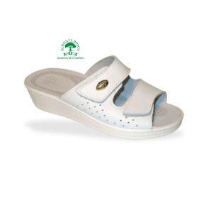 Sanital Light 375 Bianco női komfort papucs