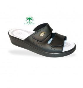 Sanital Light 375 Nero női komfort papucs