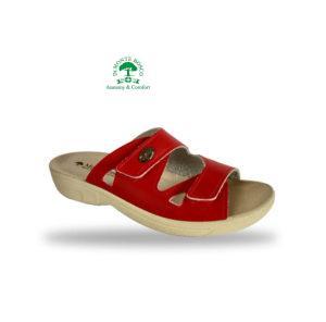 MonteBosco komfort gyógypapucs 1406 Rosso