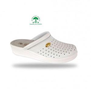 Sanital Light 1350 Bianco női komfort papucs