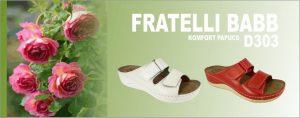 MonteBosco komfort és divat papucs - Fratelli Babb