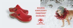 Boldog Karácsonyt kíván a MonteBosco papucs nagykereskedés!