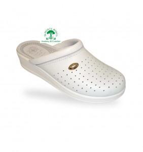 Sanital Light 350 Bianco női komfort papucs klumpa
