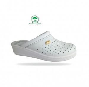 Sanital Light 350 Bianco női komfort papucs