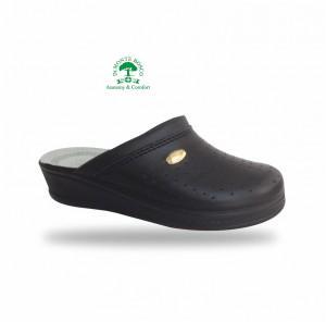 Sanital Light 350 Nero női komfort papucs