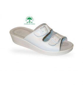 Sanital Light 371 Bianco női komfort papucs