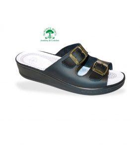 Sanital Light 371 Nero női komfort papucs