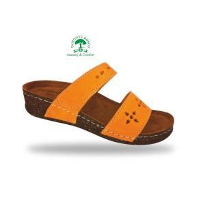 Fratelli Babb divat papucs D191 Orange kényelmesen divatos