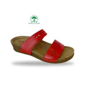 Fratelli Babb komfort papucs D191 Rosso