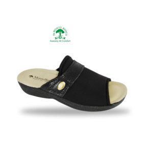 MonteBosco komfort papucs 1416 Nero