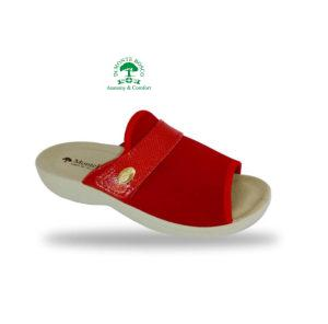 MonteBosco komfort papucs 1416 Rosso