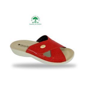 MonteBosco komfort papucs 1415 Rosso