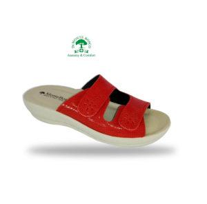 MonteBosco komfort papucs 283 Rosso