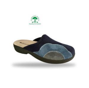 MonteBosco női komfort papucs 425F Blu