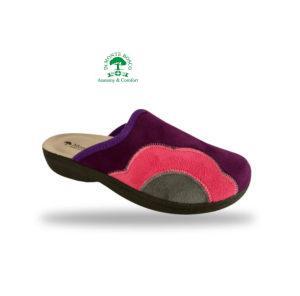 MonteBosco női komfort papucs 425F Violet
