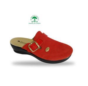 MonteBosco női komfort klumpa 6505 Rosso