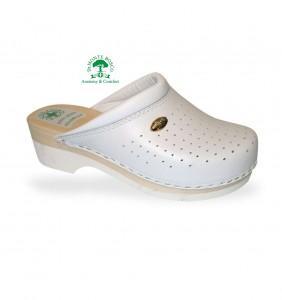 Sanital Light 2350 Bianco női komfort papucs - faklumpa