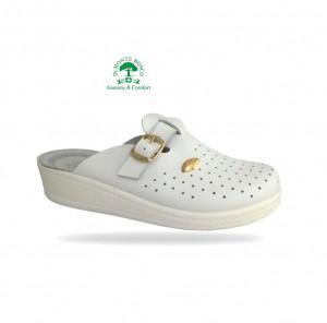 Sanital Light 372 Bianco női komfort papucs